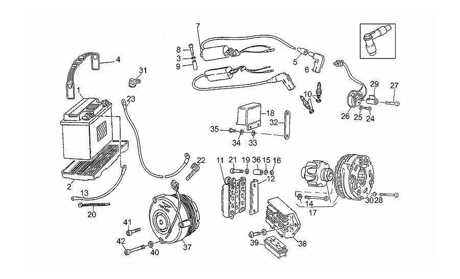 Batería - encendido  motoplat