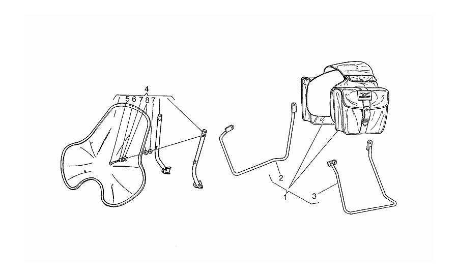 Kit maletas-parabrisas