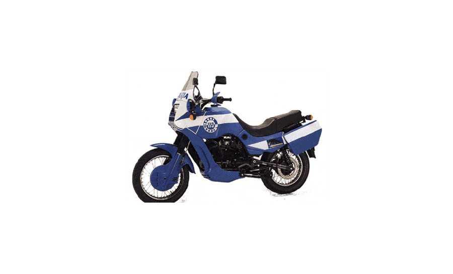750 X Policia 2A Serie 1995-2001