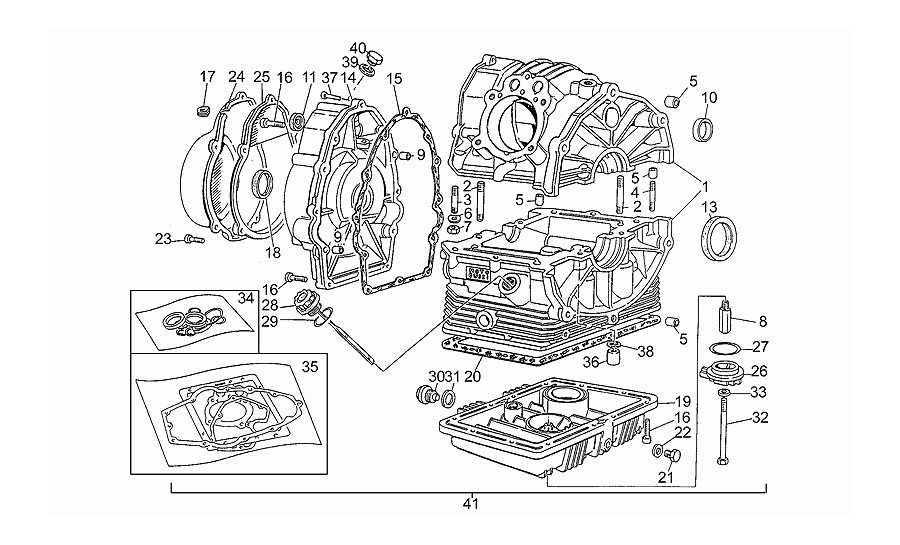 Tapas cárter motor