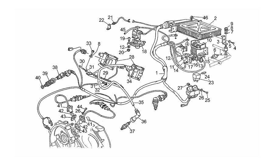 Centralita electrónica
