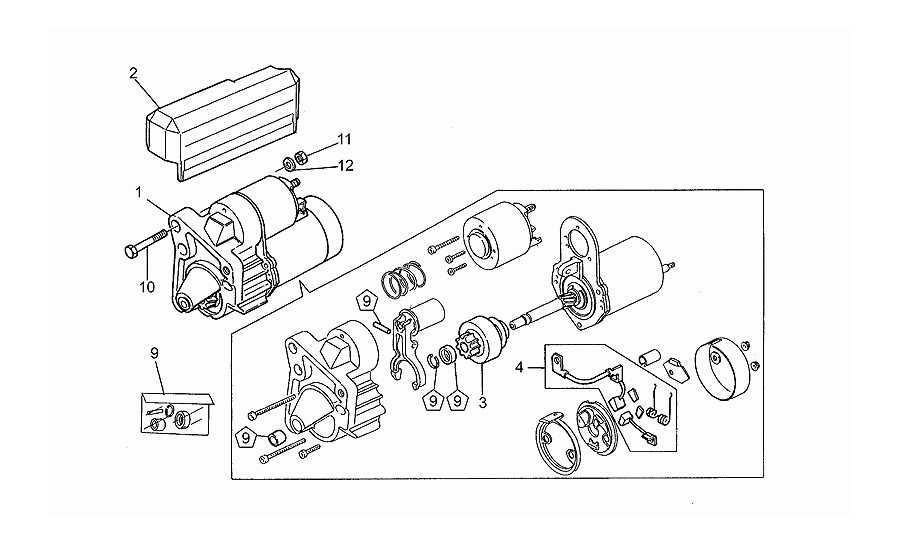 Motor de arraque valeo