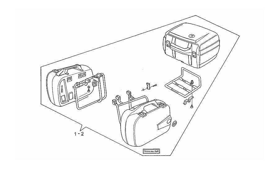 Side cases - top box