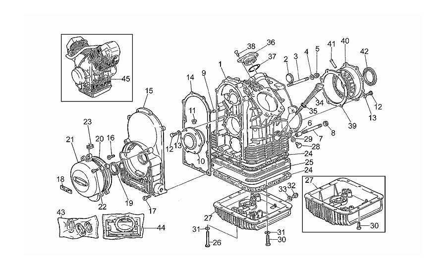 Cárter motor i