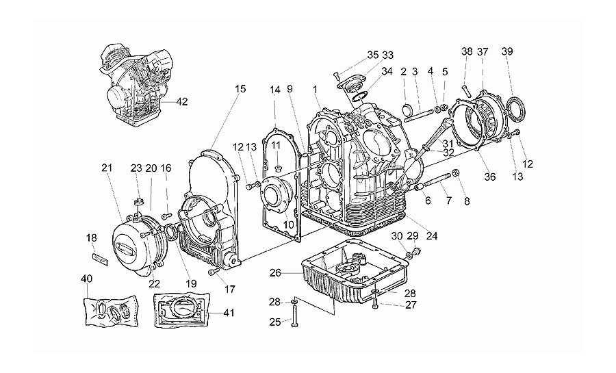 Cárter motor ii