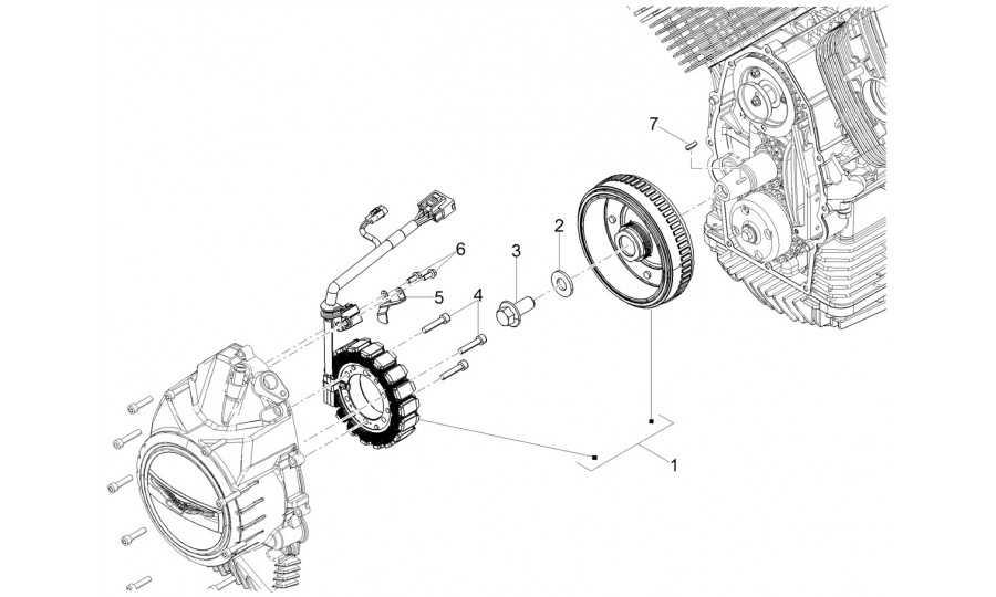 volante magneto / encendido