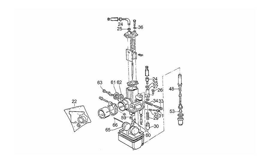 Carburador-recambios